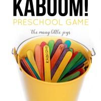 Alphabet Kaboom! (a simply brilliant preschool game)