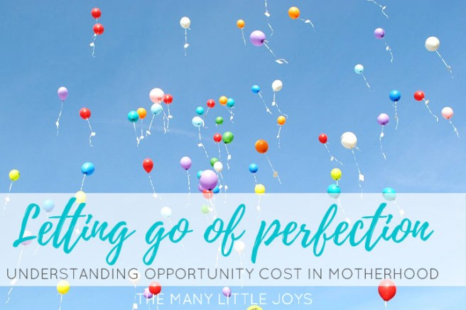 Moms have to do it all...or do they? When we understand the full cost of the choices we make, we are able to let go of perfectionism and better utilize our time and energy to focus on what matters most in life.