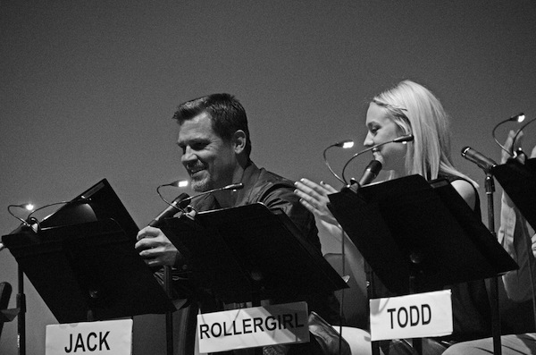 Josh Brolin and Dakota Fanning at The BOOGIE NIGHTS Live Read