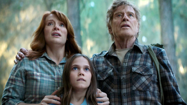 Howard, Laurence, and Redford in Pete's Dragon