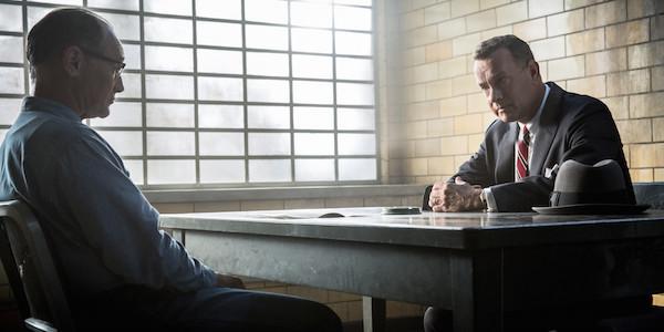 Hanks & Ryalnce in Bridge of Spies