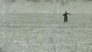 Dark Autumn Scarecrow by John Kiste