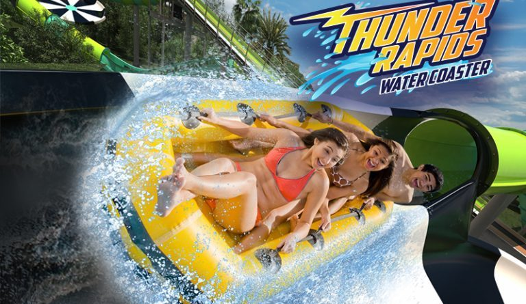 Six Flags Fiesta Texas Announces Thunder Rapids Water Coaster for 2017
