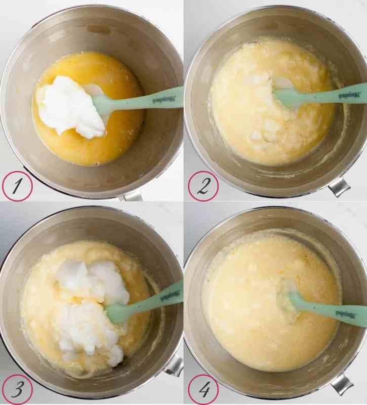 Lemon Souffle Pudding Cakes - The Merchant Baker