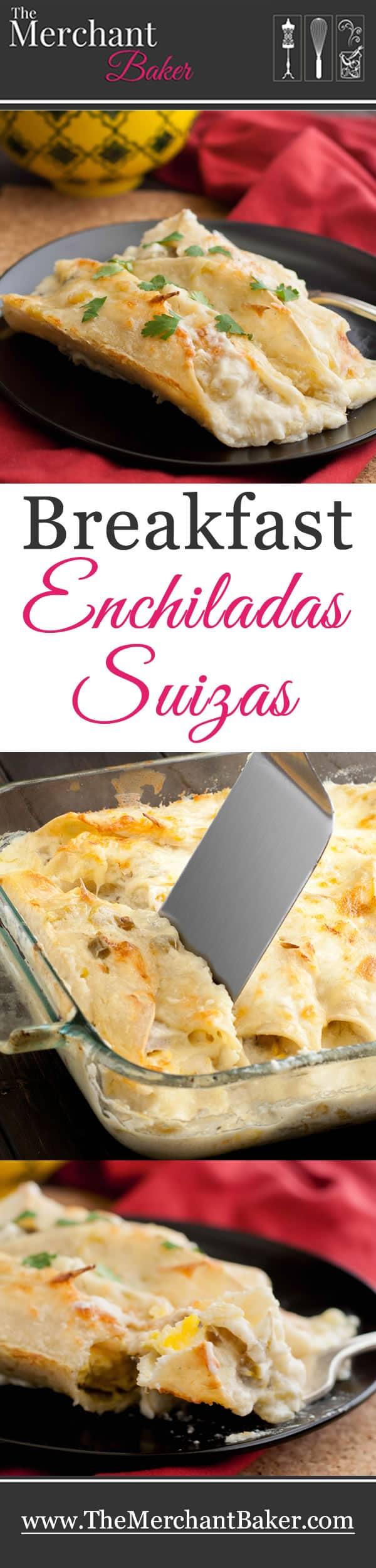 Breakfast Enchiladas Suizas