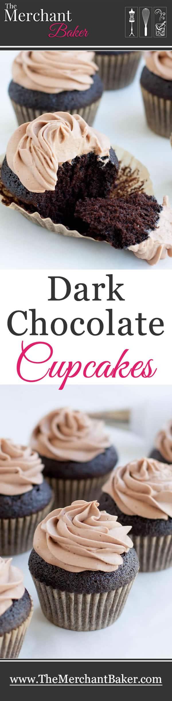 Dark Chocolate Cupcakes