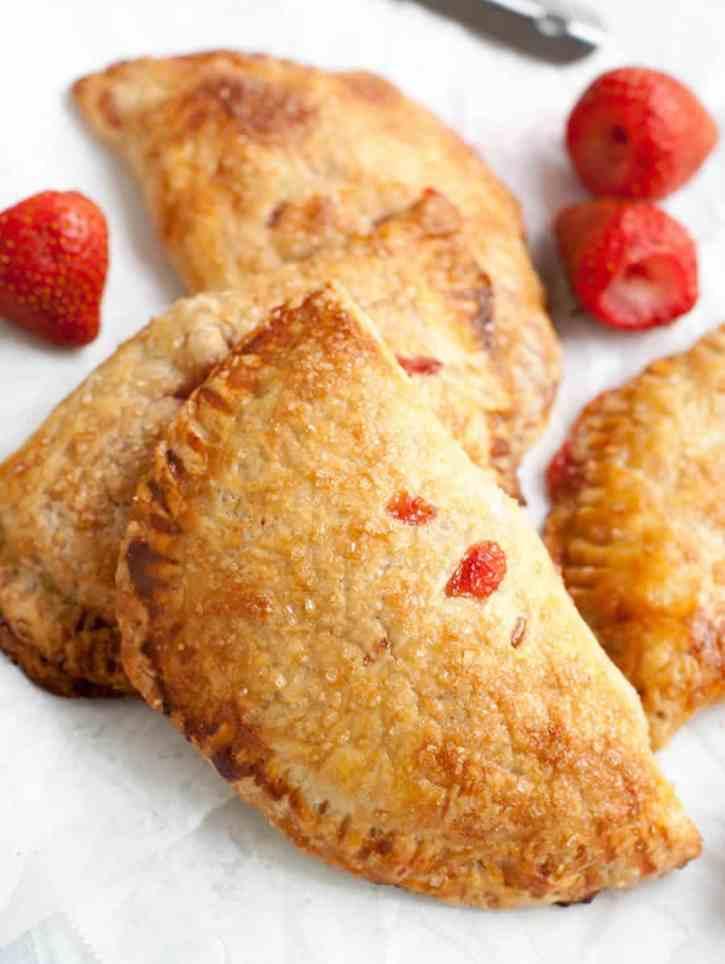 Strawberry Rhubarb Hand Pies-9