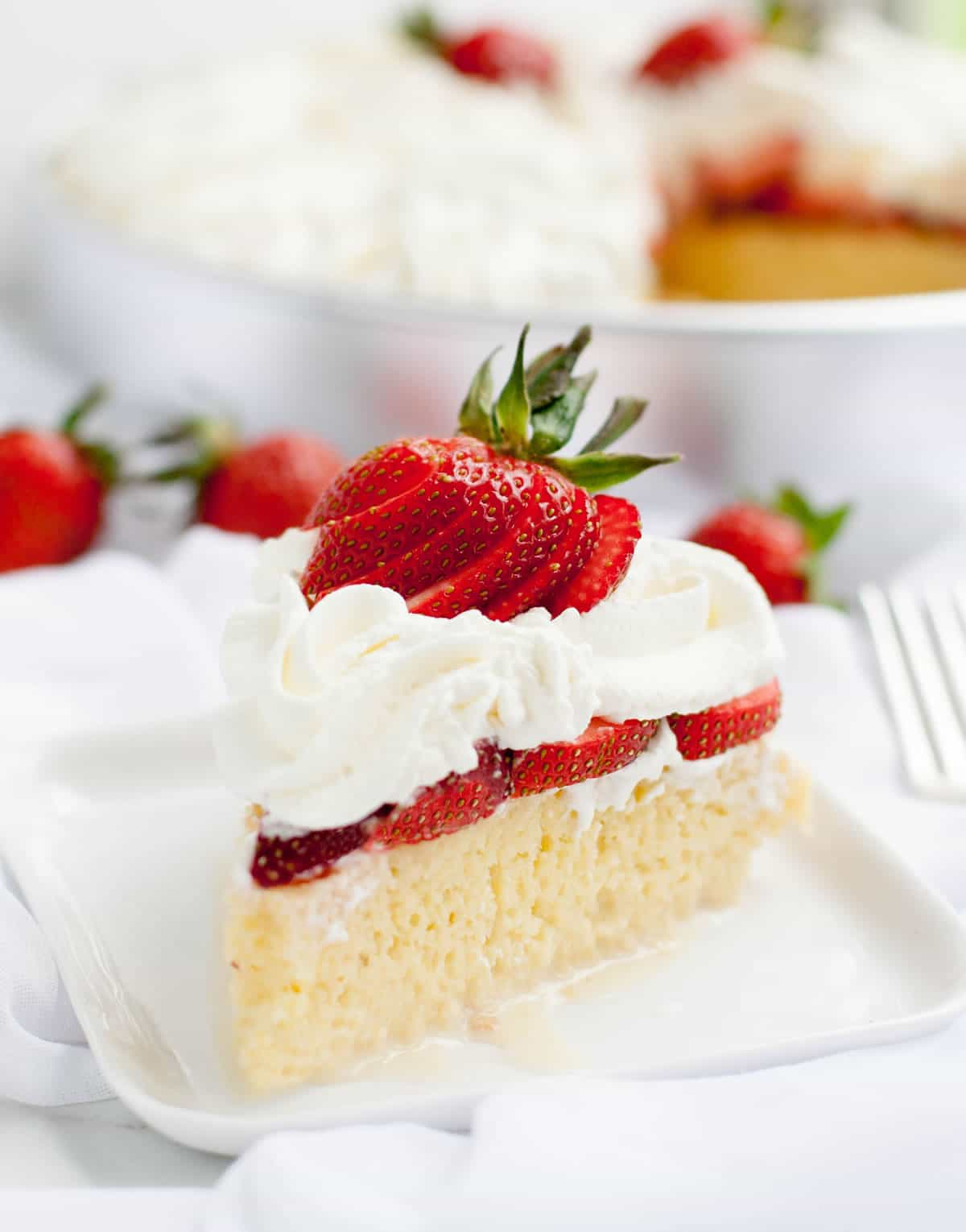 Strawberry Tres Leches Cake - The Merchant Baker