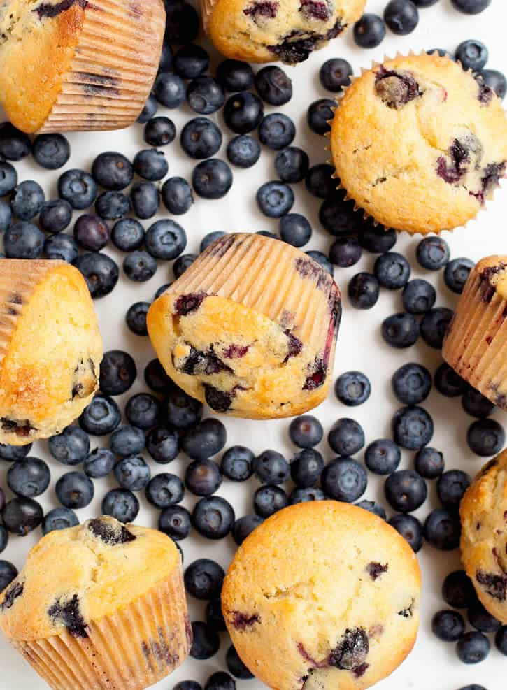 Blueberry Cream Cheese Muffins-11