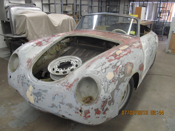 antique cars, automotive repair, automotive restoration, car body repair, classic cars, metal working, restoration, vintage cars, porsche