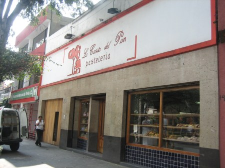 La Casita del Pan in Coyoacán, Mexico City