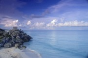 The beaches of Tulum, as photographed by the Mexican tourism board