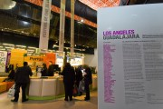 The Pabellon Los Angeles, one of the main expo areas at the Feria Internacional de Libros in Guadalajara
