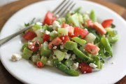 Green Bean and Chayote Salad with Queso Cotija