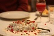 The chile en nogada at Mercaderes restaurant in Mexico City