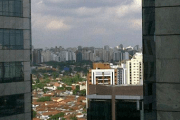 The view from our hotel in the São Paulo Hilton