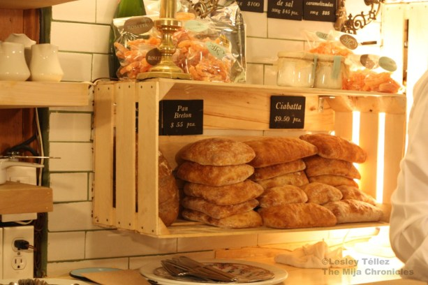 Bread at Rosetta in Roma