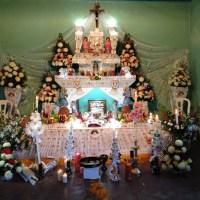 Another altar in Huaquechula, Puebla.