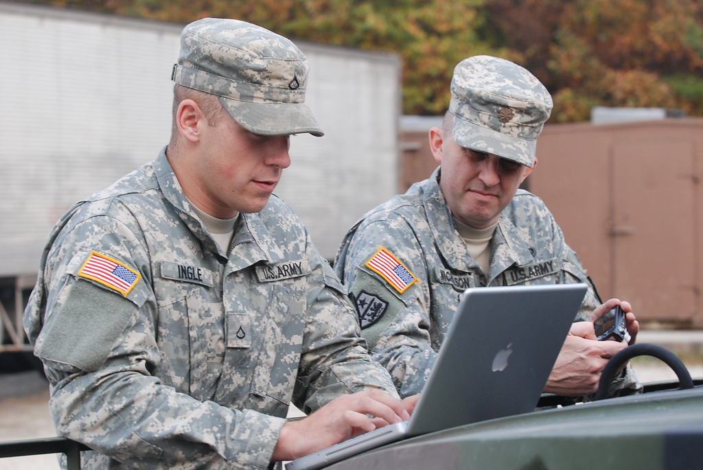 What Place Does Digital Learning Have in Our Army?