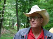 "PASSIONATE ABOUT POLYCULTURE: Joel Salatin, ""lunatic farmer,"" shares his inspiration for wholistic farming"