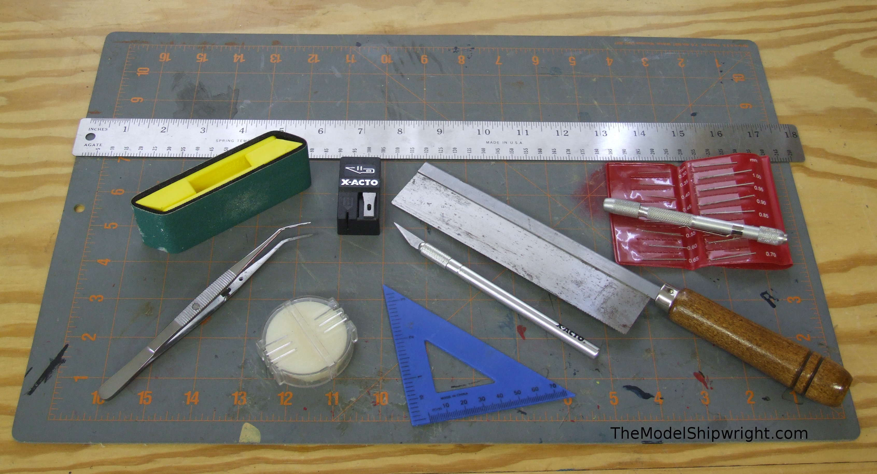 Tools for model ship building the model shipwright for Tools to build a house