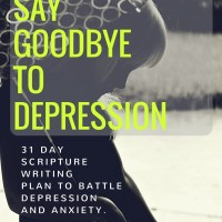 Scripture Writing Plan to Overcome Depression