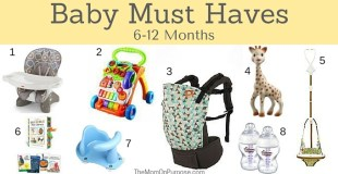 8 Baby Must Haves 6-12 months