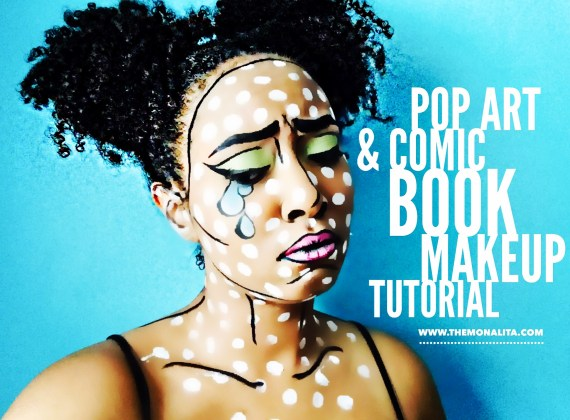Pop Art & Comic Book Makeup Tutorial