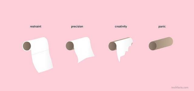 Toilet paper usage