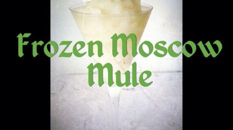 Frozen Moscow Mule