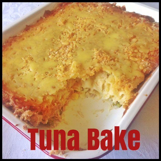 how to make tuna bake