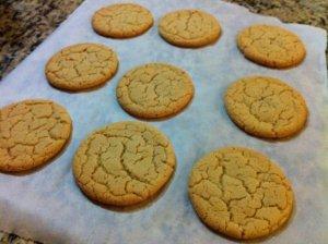 Egg Yolk Cookies From