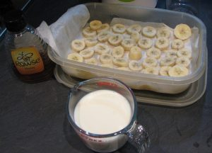 3 ingredients in Banana & Honey Smoothie