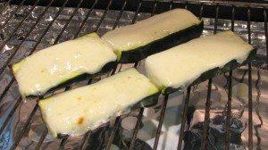 Toasted Mozzarrella Courgette