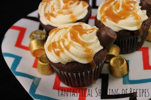 Rolo Cupcakes by Fantastical Sharing