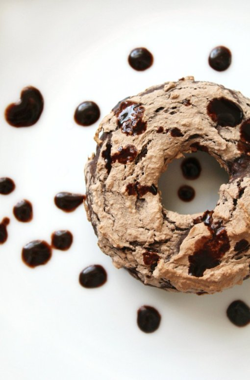 Triple Chocolate Doughnuts by Strength and Sunshine
