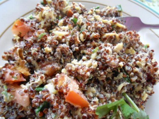 Quinoa Breakfast Scrambleon Housewives of Frederick County