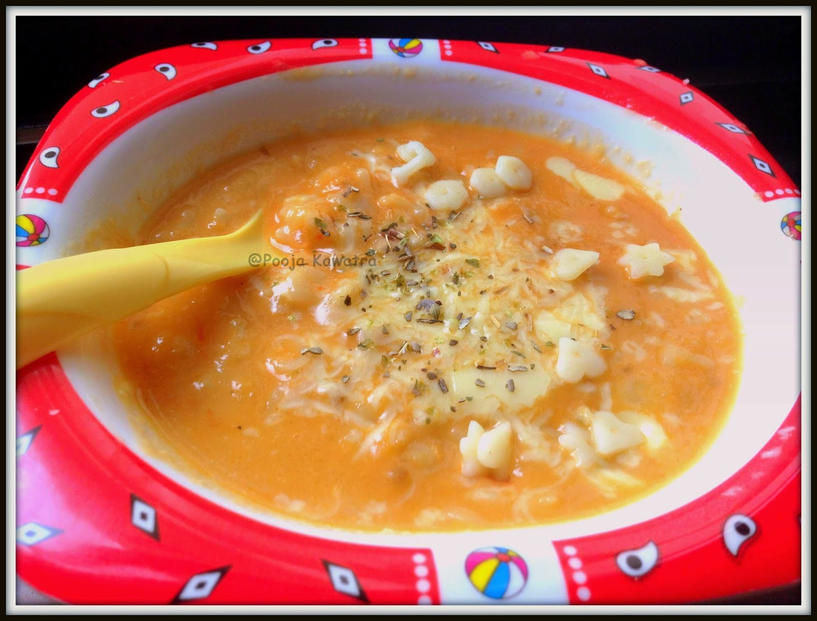 Pasta in tomato sauce and chicken stock baby recipe you can cook pasta in vegetable or chicken stock to make it healthy and flavourful too at the same time making it a hearty meal for my little one forumfinder Choice Image