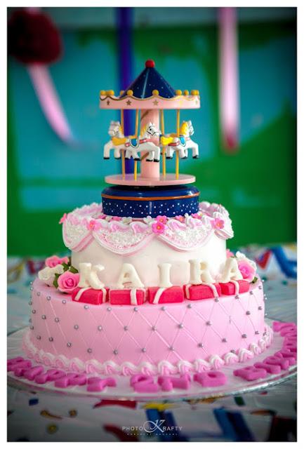 Kaira's Birthday Cake -Bakers Heart !