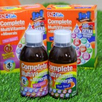 PN Kids Complete Multivitamin+ Mineral syrup - Review + Giveaway