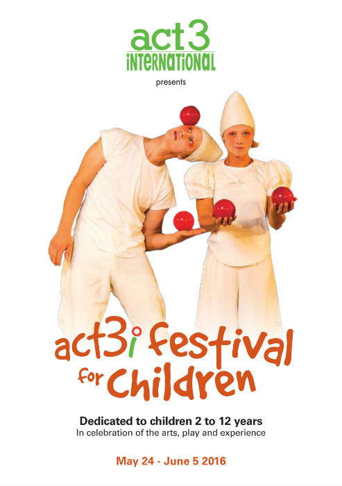 ACT 3i Festival for Children 24 May to 5 June