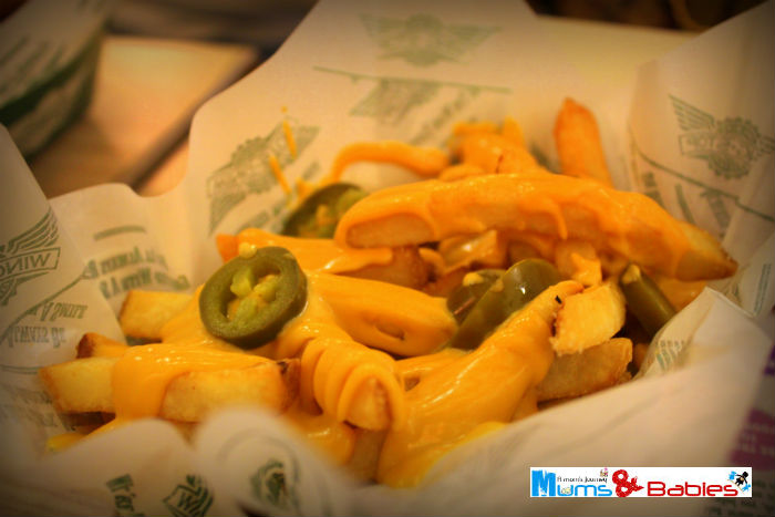 Jalapenos cheese fries