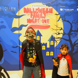 Halloween family night out kidzania