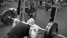 275 lb Incline Barbell Press | Jason Stallworth | TheMuscleProgram.com