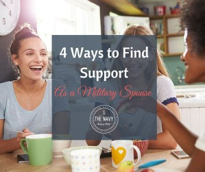 4 Ways to Find Support as a Military Spouse