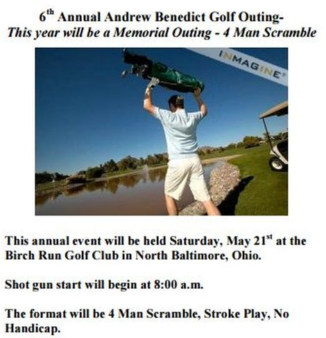 Andrew Benedict Golf May 21 Entry feature