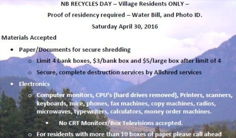 NB Recycle Day 2016 feature