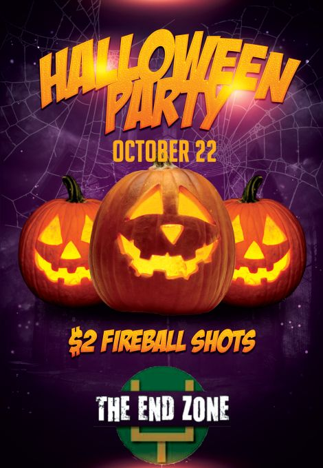 Halloween Party at The End Zone