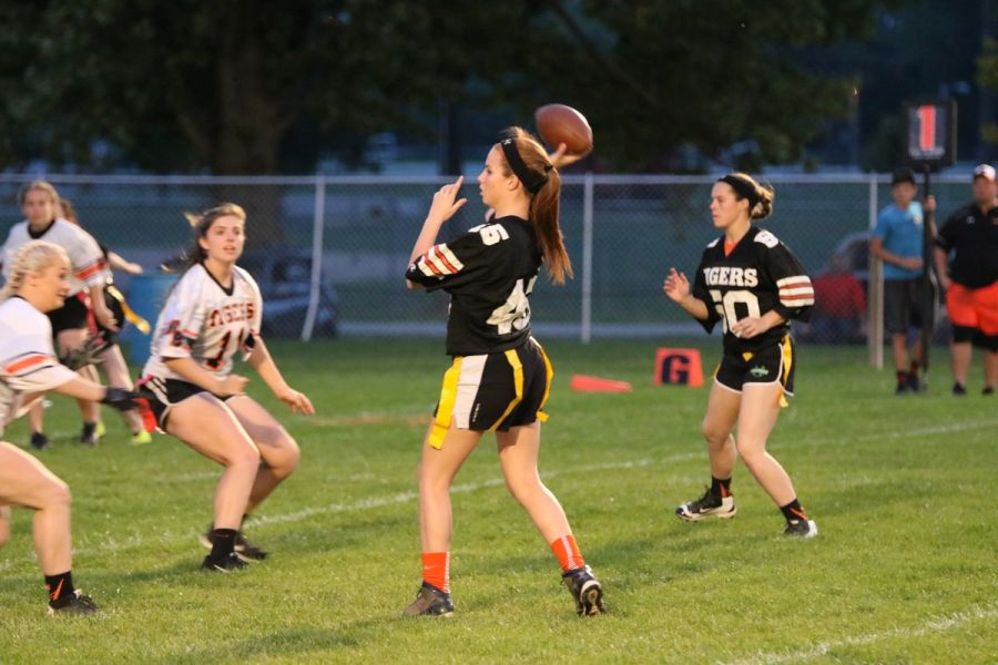 NBHS Powder Puff Football Game 2016