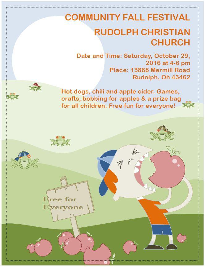 Rudolph Community Fall Festival